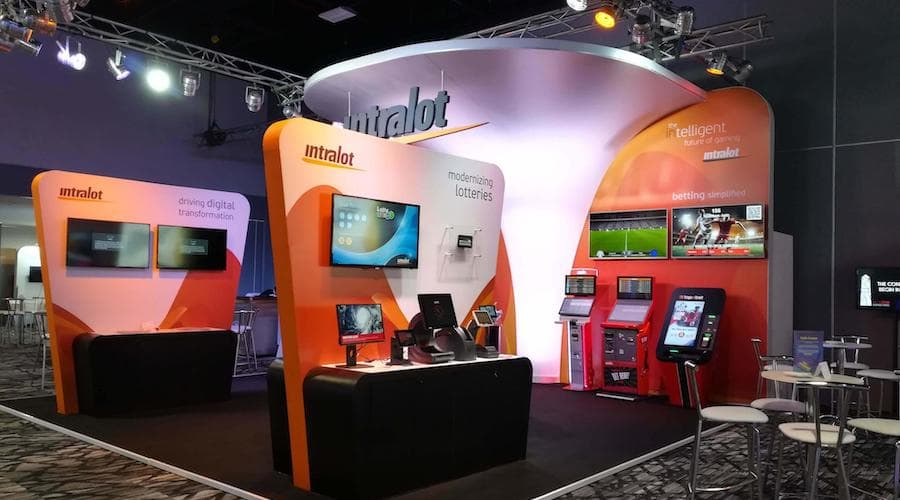 intralot salon stand