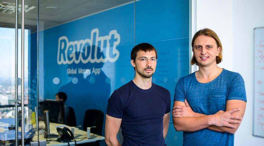 fondateurs Revolut fintech